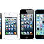 2017 yılına kadar üretilmiş tüm iphone modelleri