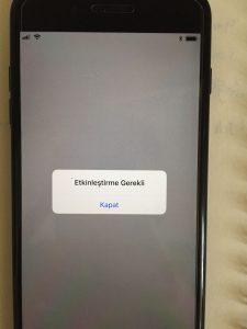 Etkinleştirme Gerekli iPhone