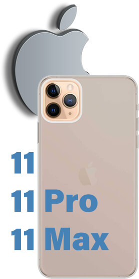 apple logosu ile iphone 11 max görüntüsü - sim kilidi